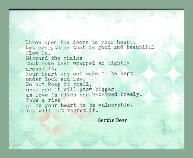 Open the Doors to Your Heart